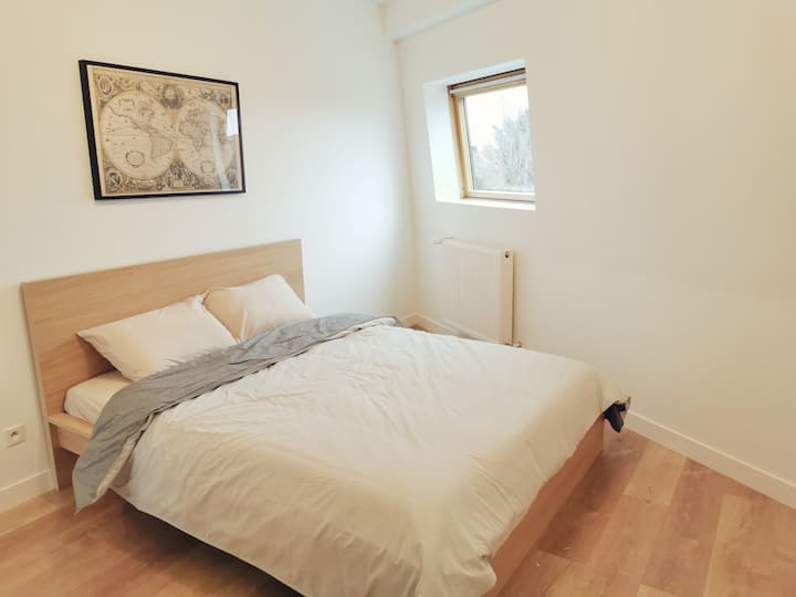 Room with shared bathroom, Tourcoing Centre (R3))