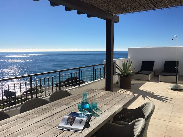 Nerja Torrox Penthouse 3 bed 2 bath 180° sea view