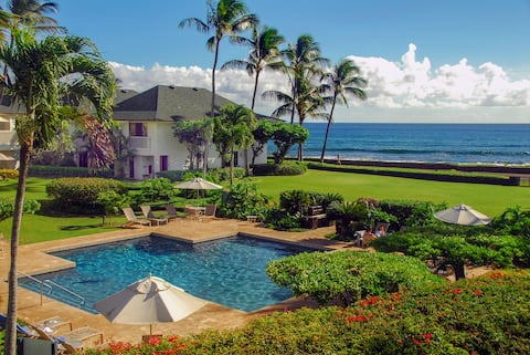Poipu Kapili 51 Oceanfront Condo, Perfect Location