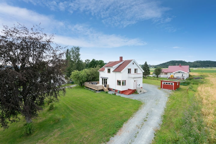 Charming house, 10min to Trondheim Airport