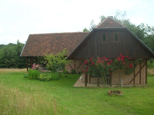 Bluebutterfly guesthouse in Őrség - Kétvölgy - บ้าน