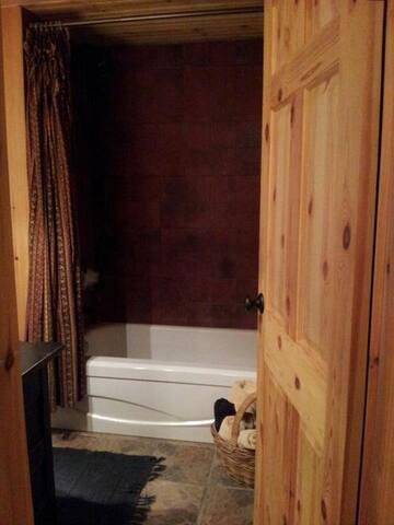 Main bath (shared) - view 2
