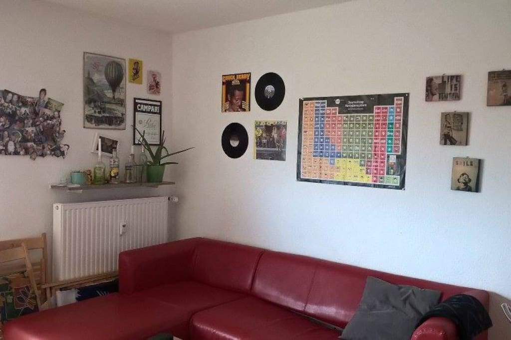 Unser Wohnzimmer/ our living room