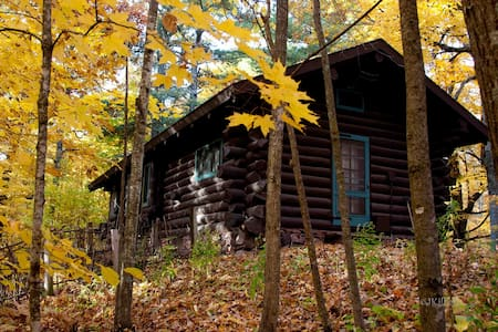 Hunt Hill Log Cabin - Sarona - Kisház