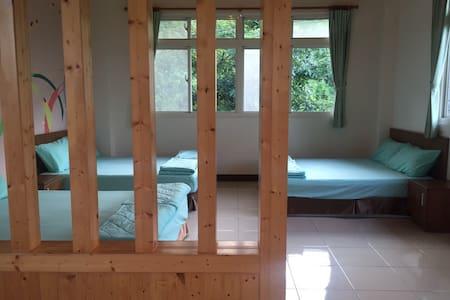 欣綠石頭屋六人房-花蓮光復生態農園 - Guangfu Township - Apartment