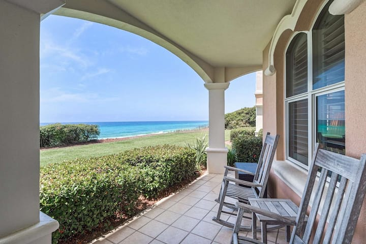 Beautifully updated beach front condo! Community Pool-Steps to Beach-Private Beach Access!
