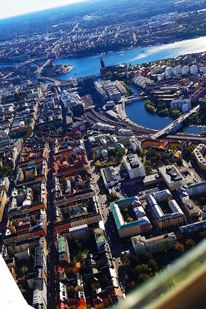 Stockholm City Hall & Riddarfjärden
