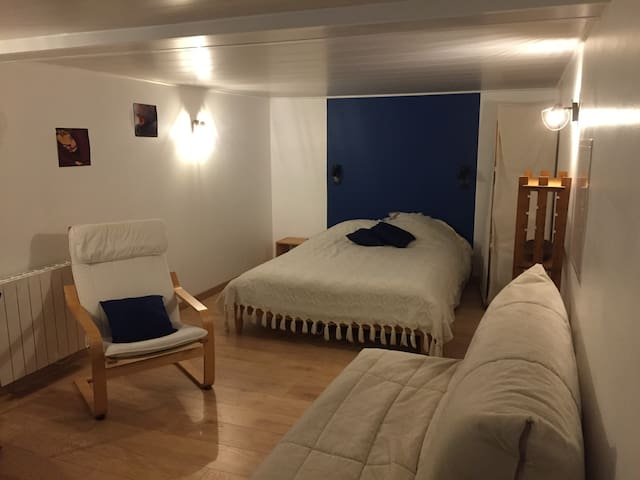 Chambre privée au pays du Mont Blanc