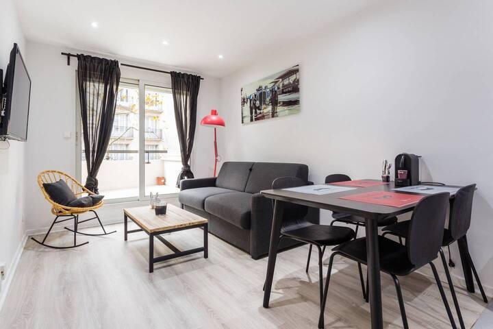 Magnifique appartement - 1BR/4P- Boulogne