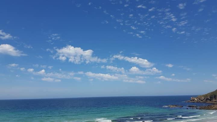 Apartamento Malpica en 1 línea de playa