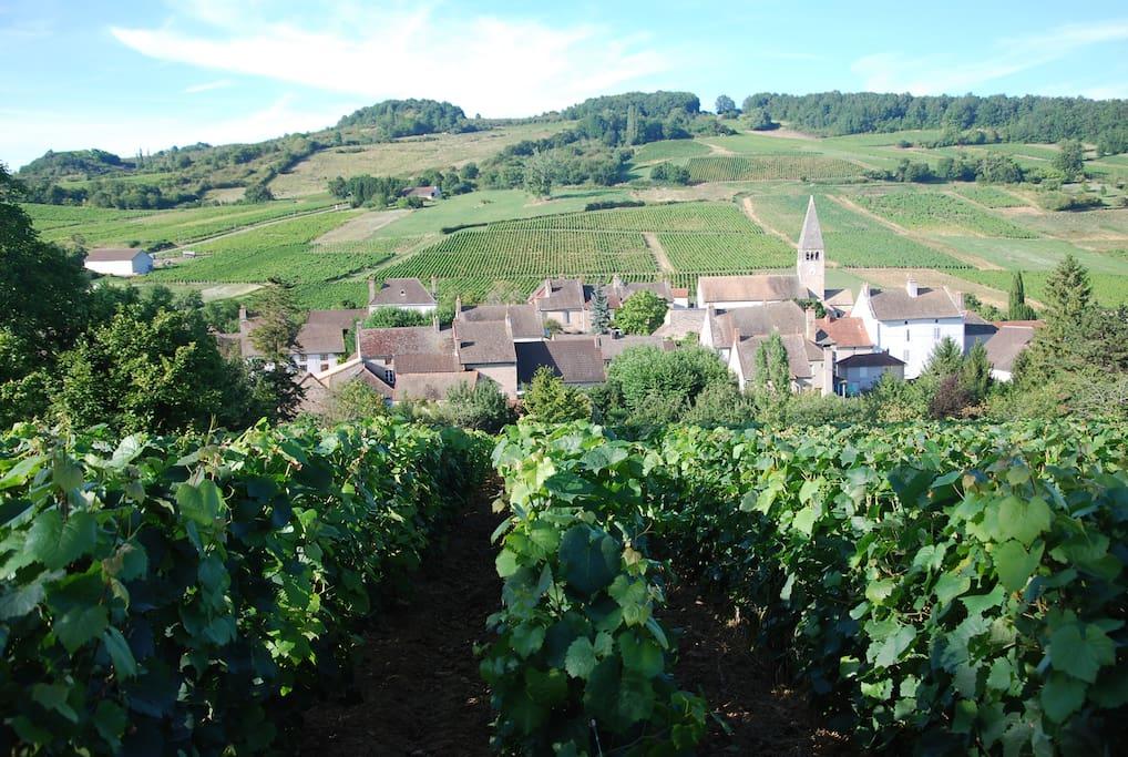 """coeur du village"""