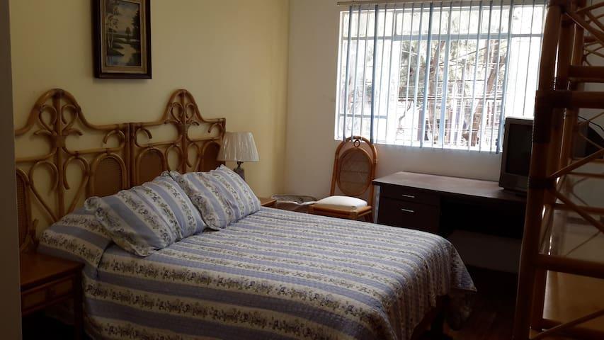 AO-Habitacion 2 Confortable en la Condesa
