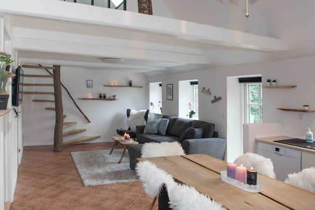 Nyrenoveret hus med charme til sanse oplevelser.
