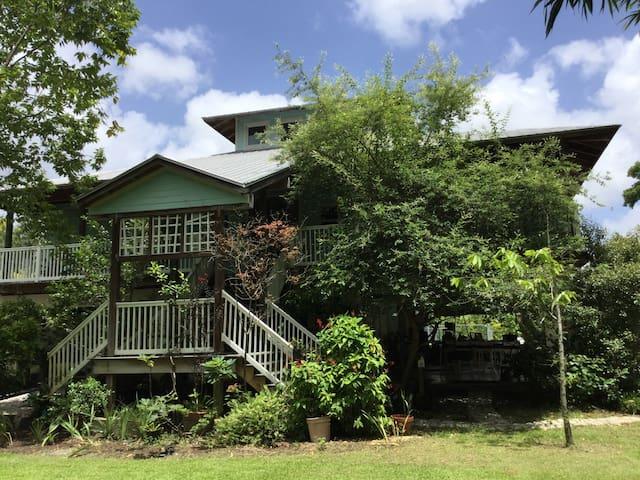 Gratitude House green room - West Palm Beach - Casa