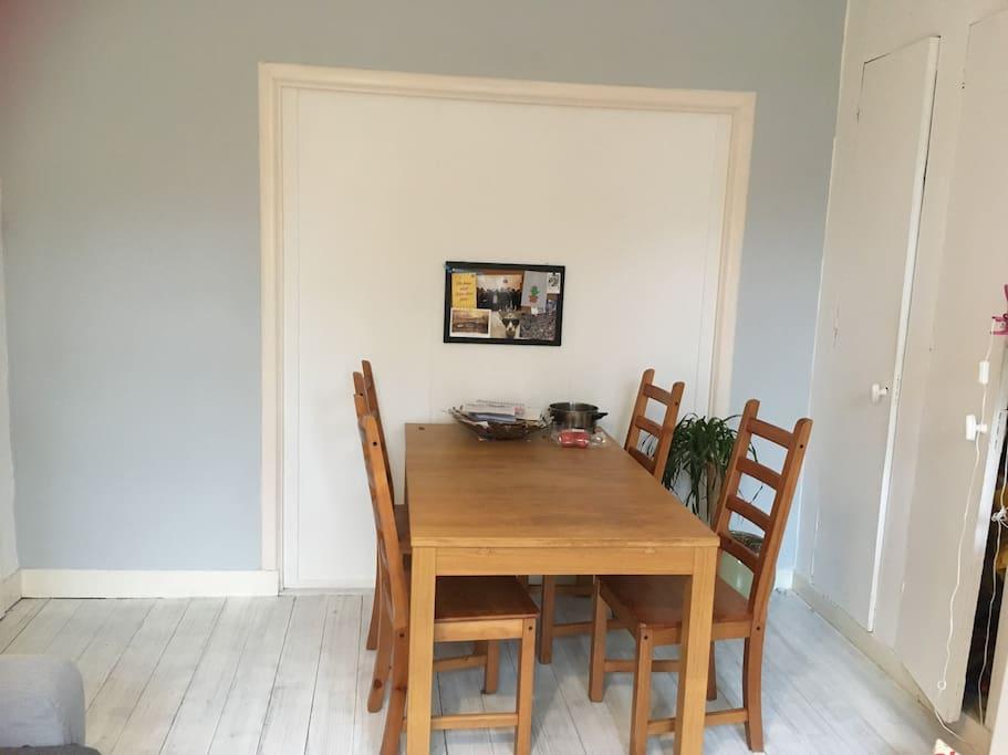 Kitchen- Dinner table