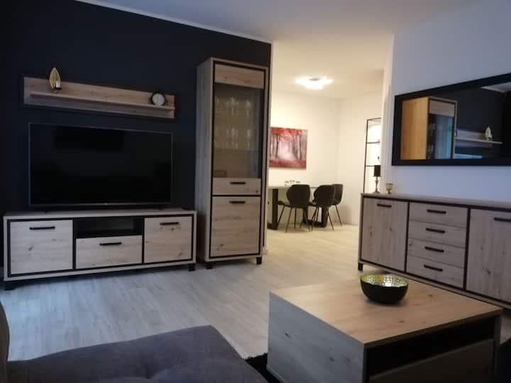 Exklusives Apartment am Kurwald in Kliniknähe