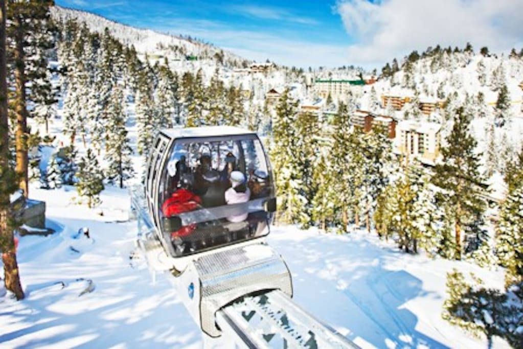 Free tram to Heavenly Stagecoach Lift is just outside your door!