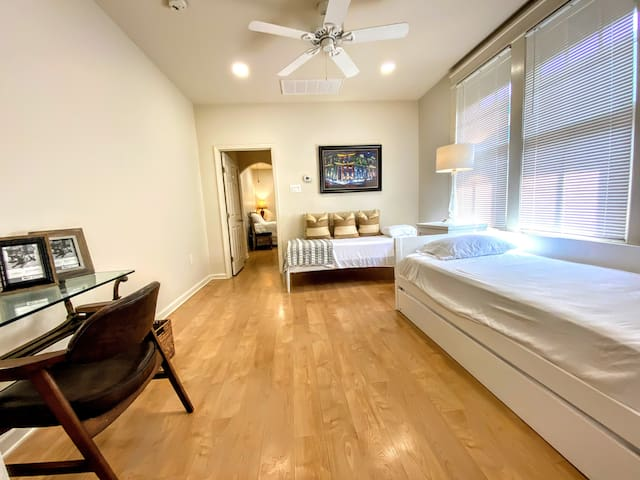 3 Twin Xl beds to enjoy and shack up with your friends and family.
