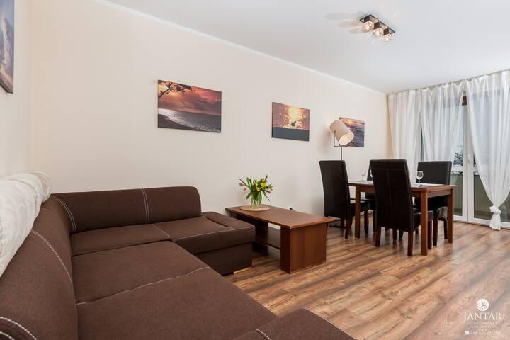 151 Apartament typu Basic z 1 sypialnią i balkonem