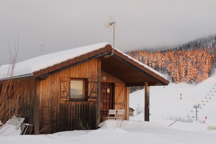 Chalet déco Montagne + sauna/bain au feu de bois