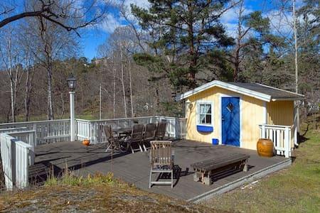 Top location guesthouse in exclusive Saltsjöbaden - Saltsjöbaden - 小木屋