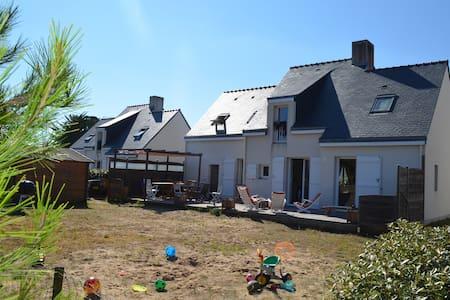 Villa 4 chambres, 300m plage de la Govelle - Batz-sur-Mer