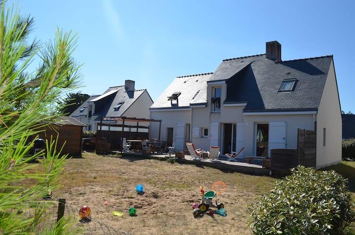 Villa 4 chambres, 300m plage de la Govelle