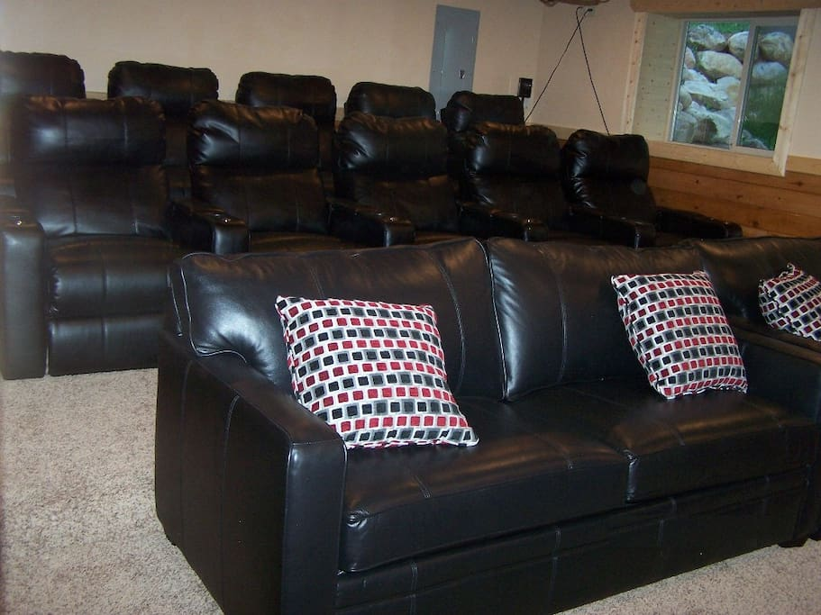 Theater Room seating 16