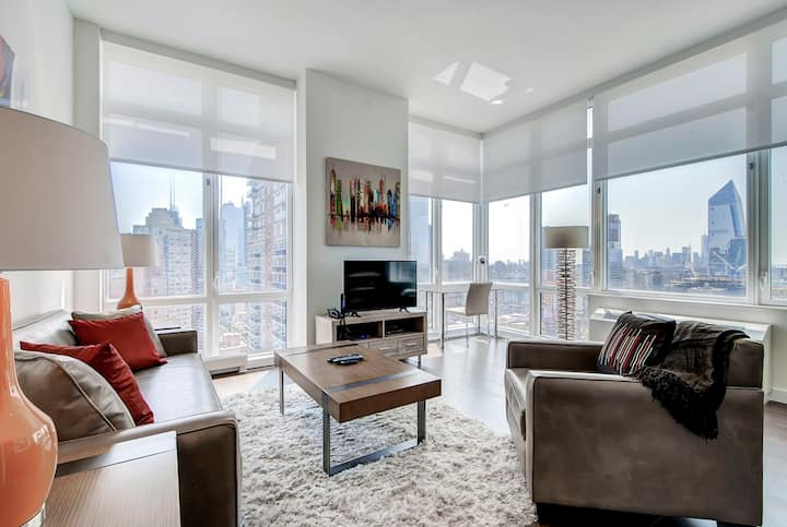 Beautiful 1BR  | Hells Kitchen | Furnished | GLS