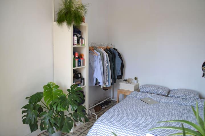 habitación doble cerca Pl Espanya - Barcelona - Lägenhet