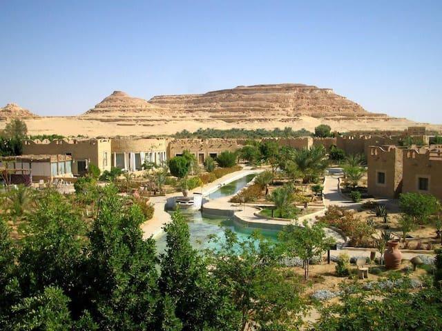 SIWA SHALI RESORT Charming place facing the desert