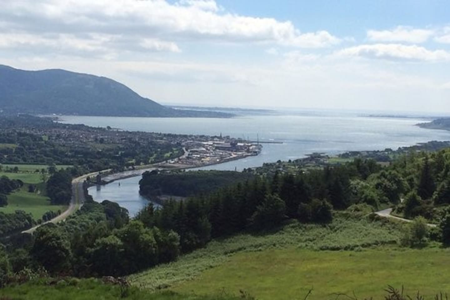Scenic View of Carlingford Lough