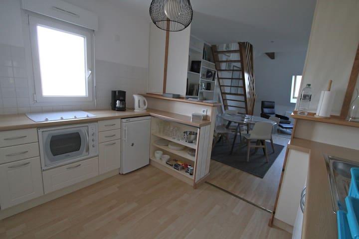 Cosy duplex in Roscoff - Roscoff - Wohnung