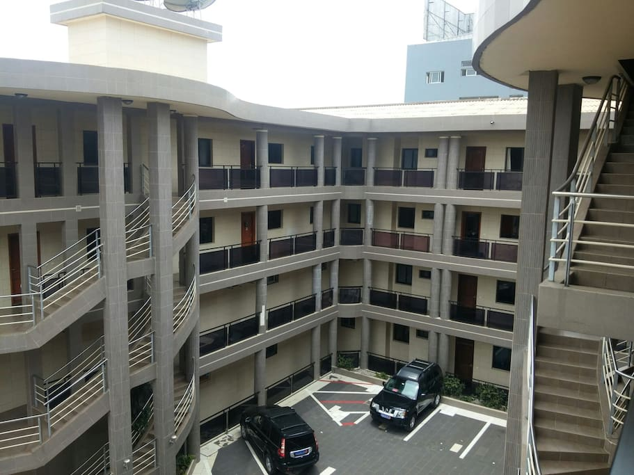 Complexe d'appartements haut standing et securise