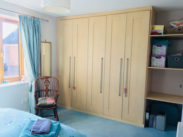 Use of wardrobe - with hanging and shelf space