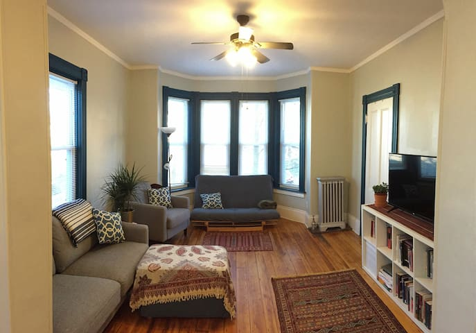 Your Sunny (Clean & Quiet) Providence Apartment