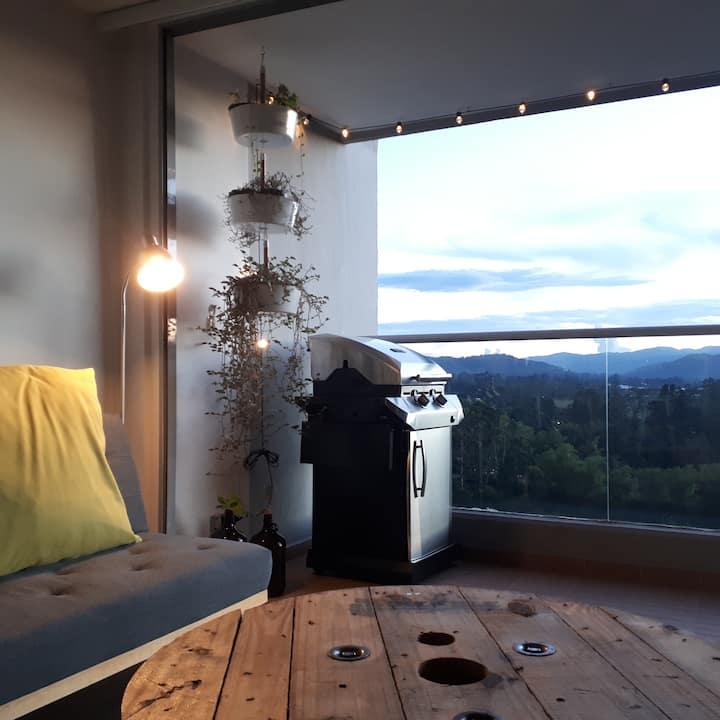 Apartamento campestre con la mejor vista/ubicación