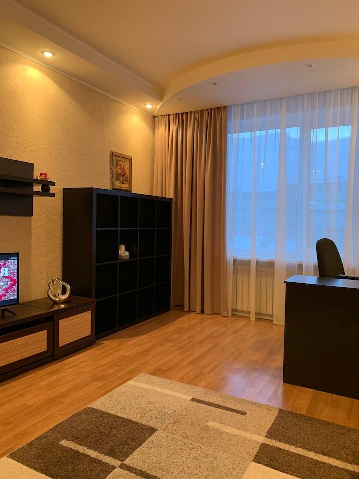 Комфортабельная 1 комнатная квартира