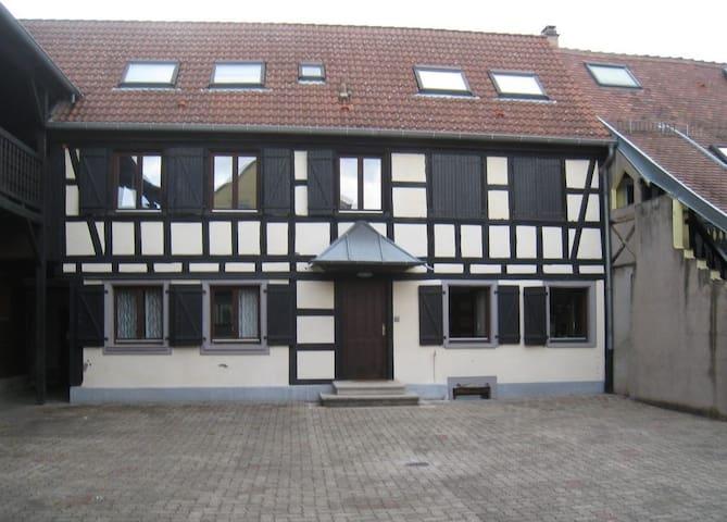 2-3 pax residential subburb park+ QSB - Bas-Rhin