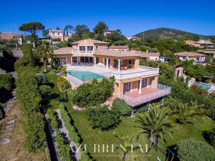 Villa Perdrix - modern property near the beaches