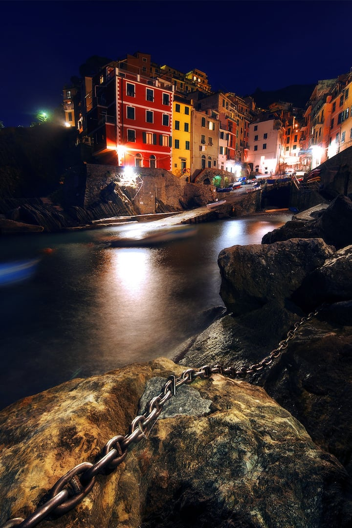 Riomaggiore and its beautiful marina!