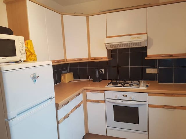 Double room with a double bed in leafy Chiswick - London - Wohnung