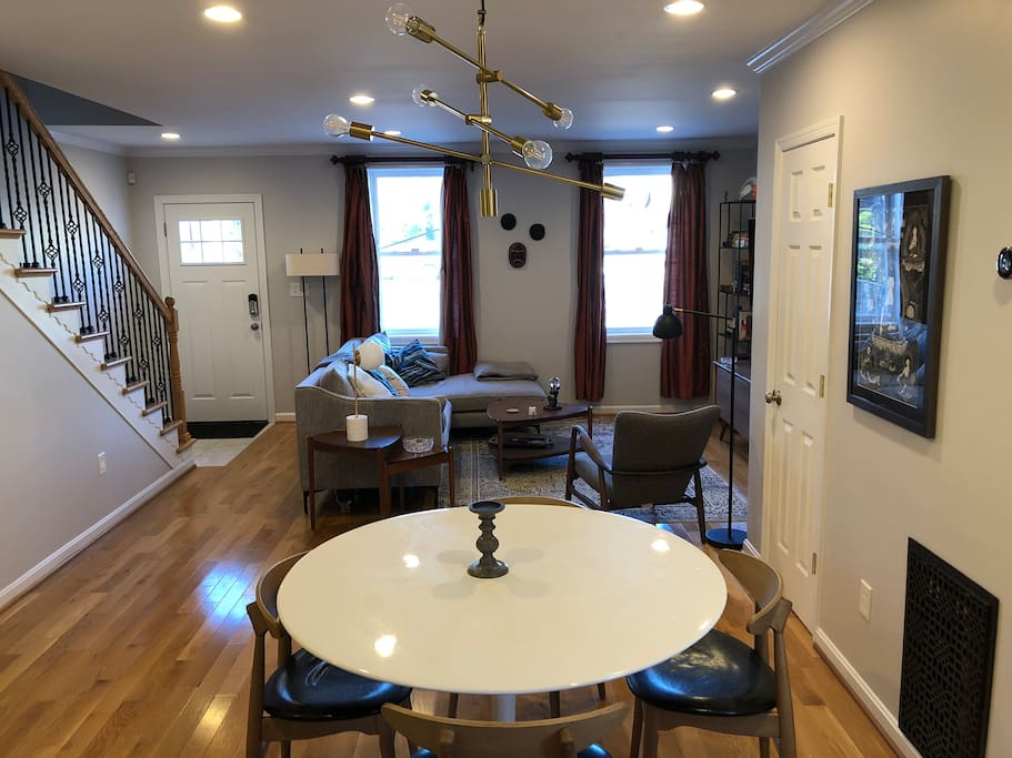 Main living and dining space