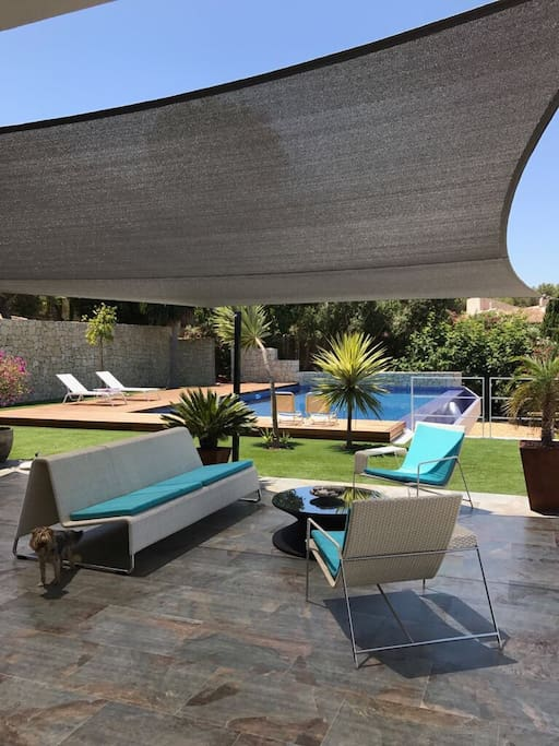 Shared Terrace and Pool Area