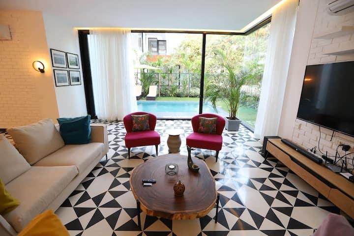 Luxury Villa with private pool  @ Vagator
