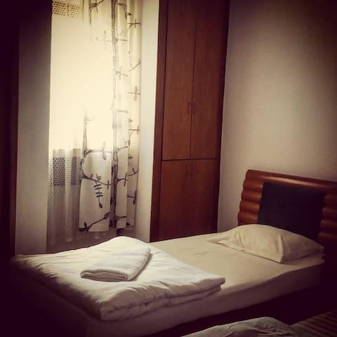 "Pensiunea ""Lis House"" - room 2 (two single beds)"