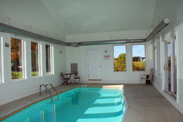 Priv. Indoor Pool, Hot Tub, Free Golf&Mini,Tennis