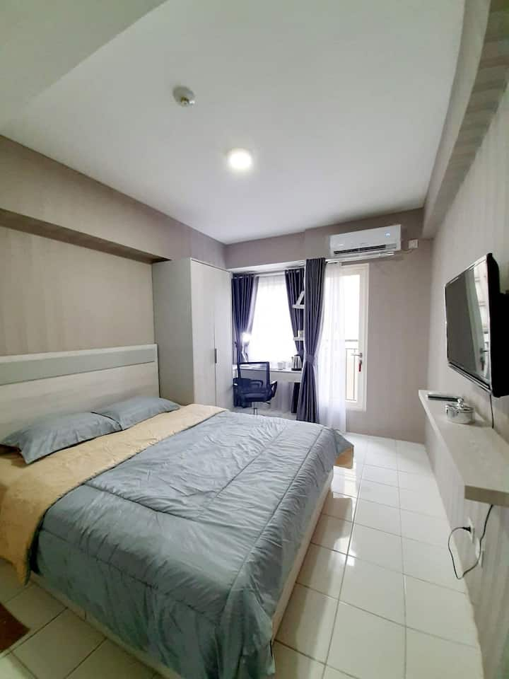 Affordable studio apartment near East Jakarta