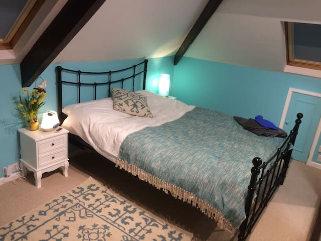 Lovely double character attic with ensuite shower