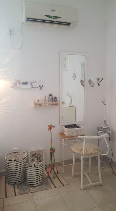 Private spacious room